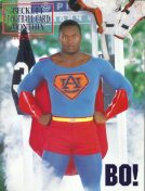 #10 January 1991-Bo Jackson Football Becketts