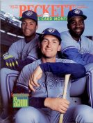 #101 August 1993-Roberto Alomar/Joe Carter/John Olerud Baseball Beckett
