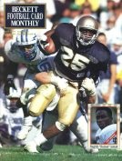 #13 April 1991-Raghib Ismail Football Becketts