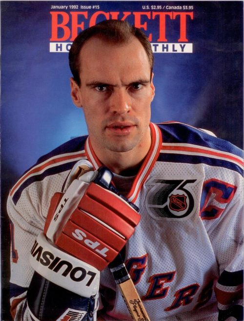#15 January Mark Messier Hockey Beckett
