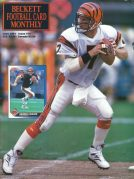 #15 June 1991-Boomer Esiason Football Beckett