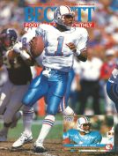 #18 September 1991-Warren Moon Football Beckett
