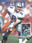 #19 October 1991-Troy Aikman Football Beckett