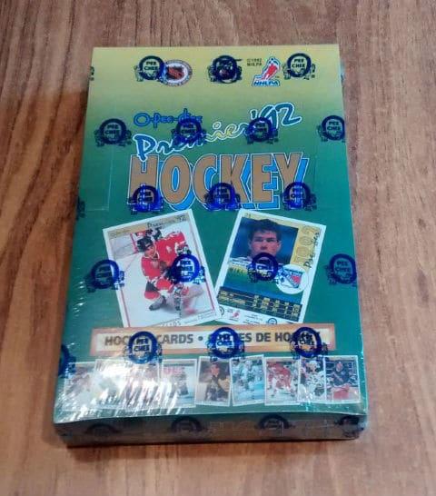 1991-92 O-Pee-Chee OPC Premier Hockey Box