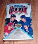 1991-92 Upper Deck French High# Hockey Retail Box