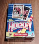 1991 Topps Hockey Card Pack Box