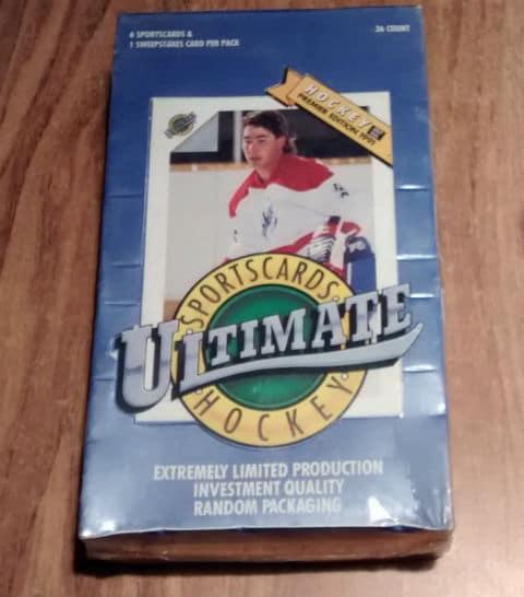 1991 Ultimate Premier Hockey Sealed Factory Box