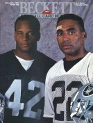 #20 November 1991-Ronnie Lott/Roger Craig Football Beckett
