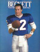 #22 January 1992-Jim Kelly Football Becketts