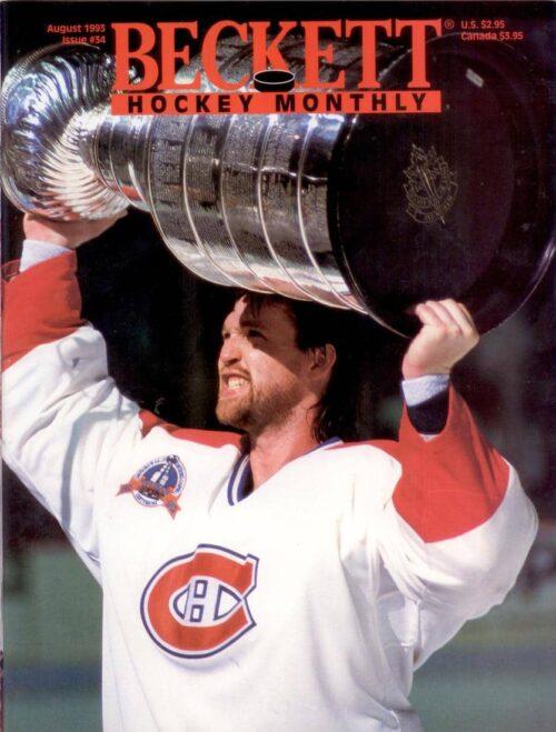 #34 August 1993-Patrick Roy Hockey Beckett