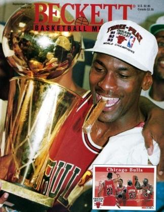 #38 September 1993-Michael Jordan Beckett