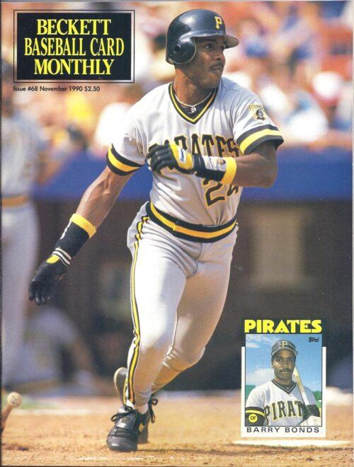 #68 November 1990-Barry Bonds Baseball Beckett