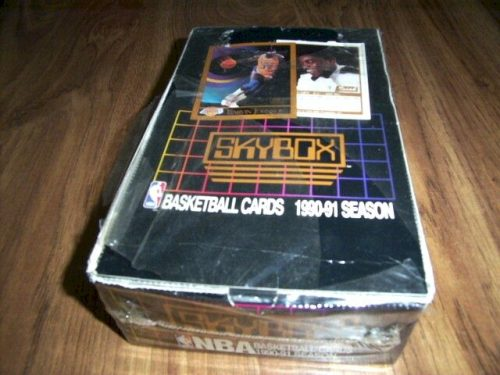 1990-91 Skybox Basketball Cards Box - JORDAN