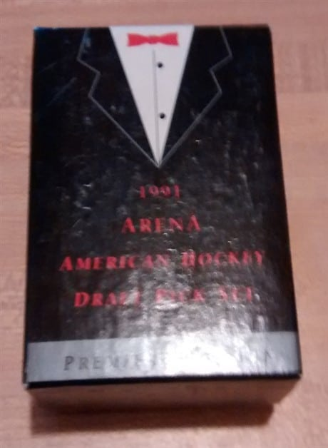 1991 Arena American Hockey Draft Pick Premiere Edition
