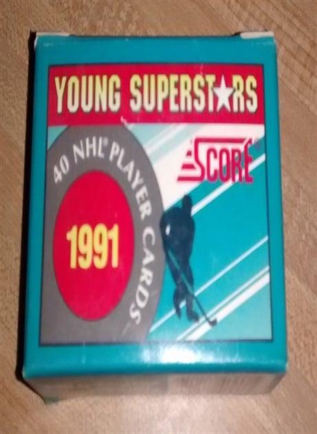1991 Score Hockey Young Superstars