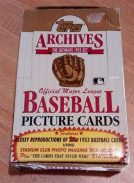 1991 Topps Baseball Archives Reprint Box