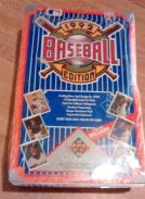 992 Upper Deck Low Series Baseball Hobby Box