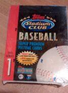 1993 Topps Stadium Club Series 1 Baseball Hobby Box
