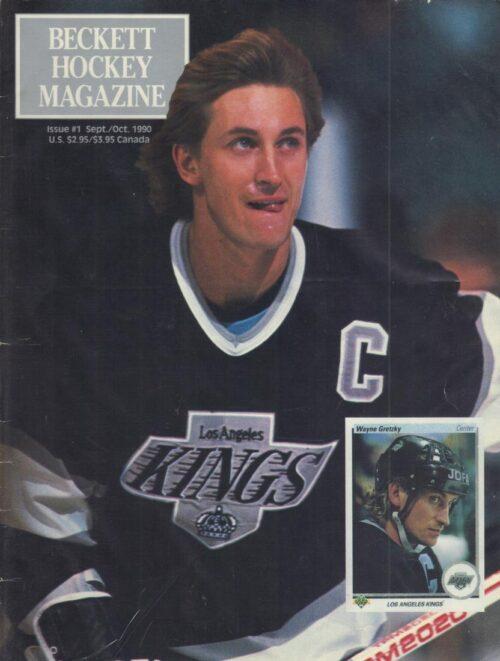 #01 September 1990-Wayne Gretzky Beckett