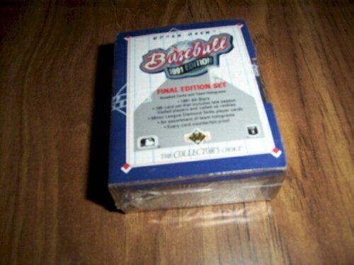 1991 Upper Deck Baseball Box FINAL EDITION SET