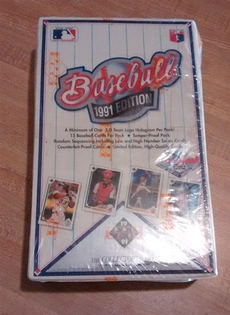 1991 Upper Deck High Series Baseball Hobby Box