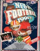 1991 Upper Deck NFL Football Box