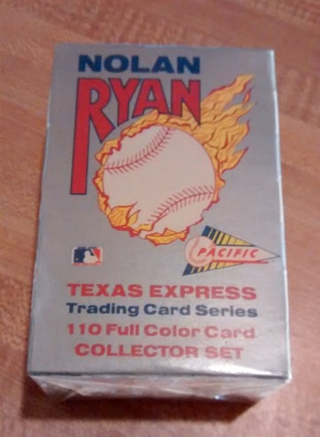 NOLAN RYAN Texas Express Complete Card Set