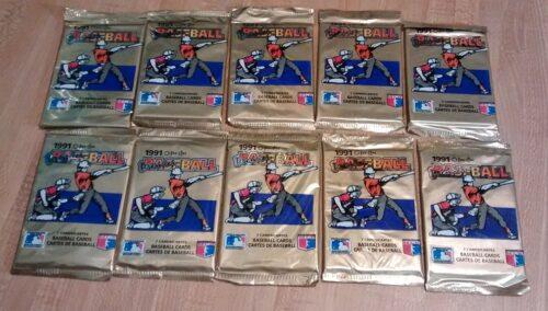 1991 OPC Premier Baseball Packs