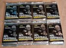 1991 PINNACLE PREMIER EDITION NFL FOOTBALL - 8 WAX PACKS