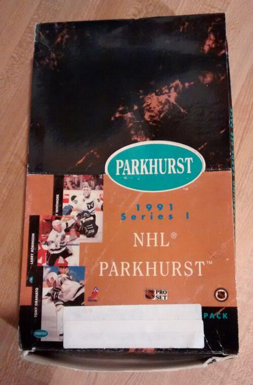 1991 Parhurst Hockey Series 1 Box