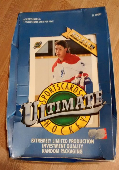 1991 Ultimate Draft Picks Hockey Box02