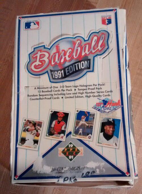 1991 Upper Deck Baseball High Series Box