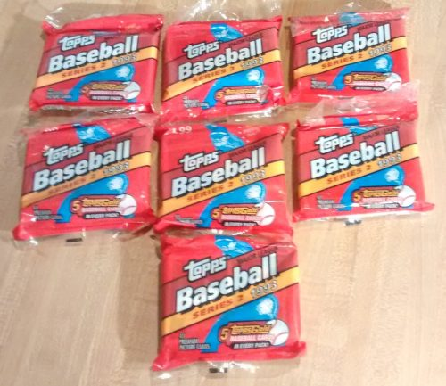 1993 Topps BB Jumbo Series 2 - 7 Wax Packs