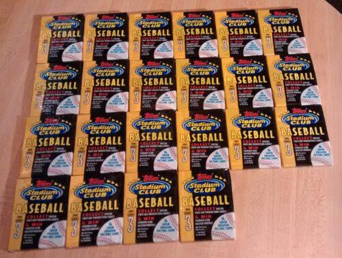 1993 Topps Baseball Series 3 - 22 Wax Packs
