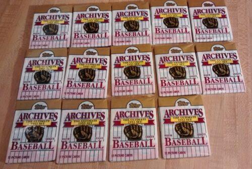 1994 Archives Baseball - 14 Wax Packs