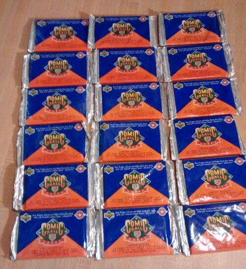 Comic Ball 2 Wax Packs
