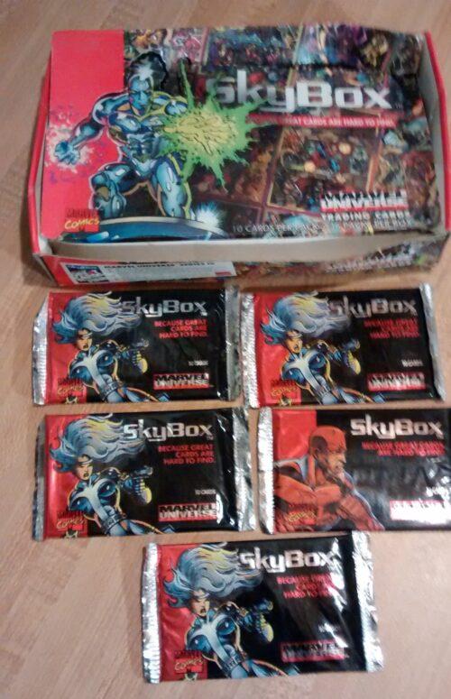 Marvel Universe 4 Wax Packs
