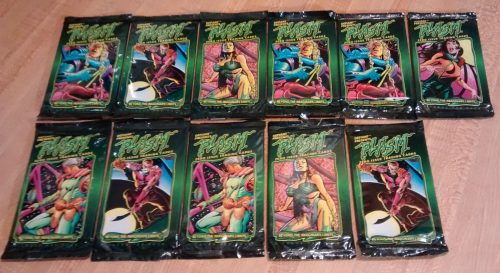1993 Plasm Wax Packs