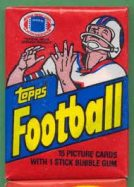 Football Wax Packs