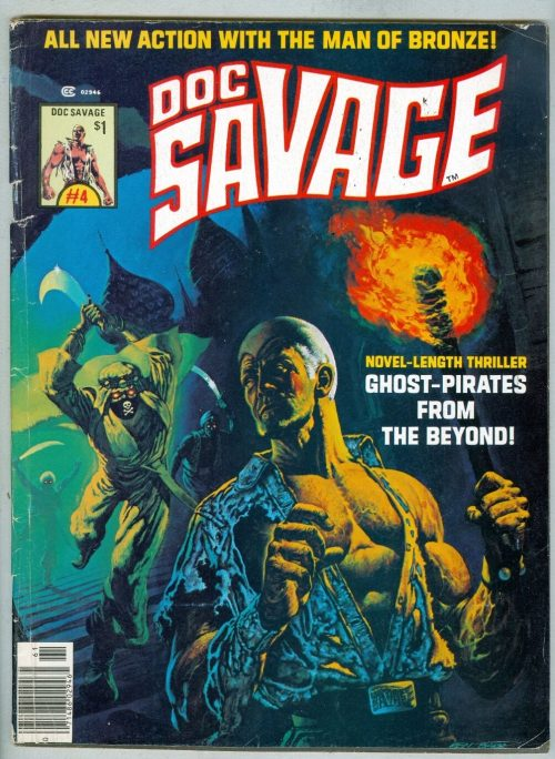 1976 Doc Savage #4