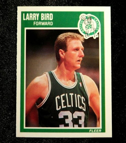 1989-90 Fleer, Larry Bird, #8