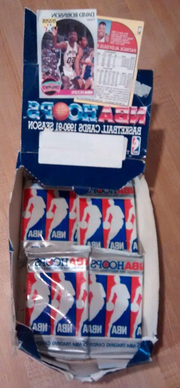 1990-91 NBA Hoops Series I Basketball Box02