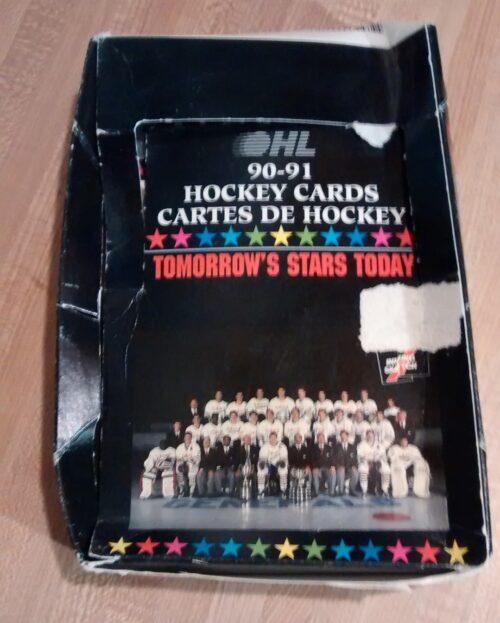 1990-91 OHL Hockey Box