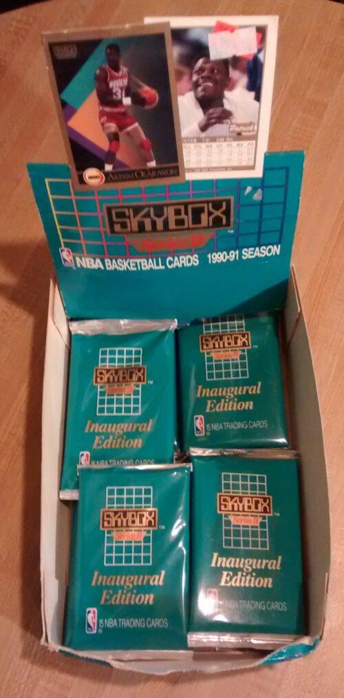 1990-91 Skybox Basketball Series 2 Box02