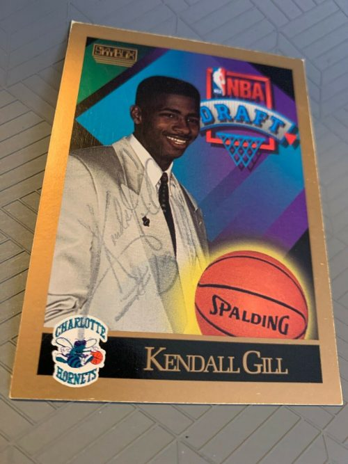 1990-91 Skybox Kendall Gill Draft Pick #356 RC