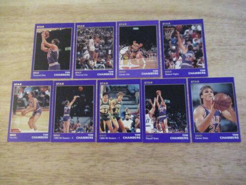1990 Star Basketball GOLD Set Tom Chambers (10-18)