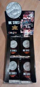 1991-92 Pro Set Hockey Series 1 Box02