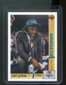 1991-92 Upper Deck Draft #2 Larry Johnson Charlotte Hornets