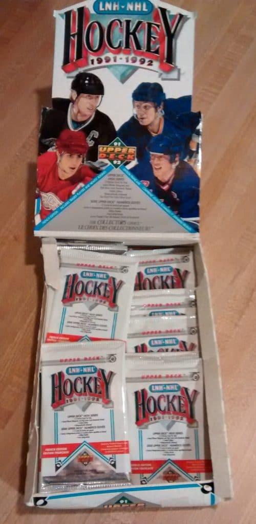 1991-92 Upper Deck Hockey High Series Box02
