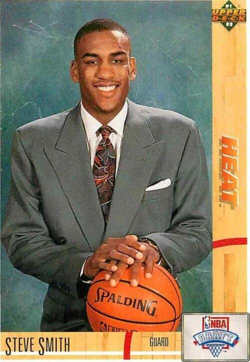 1991-92 Upper Deck Nba Draft Steve Smith #4